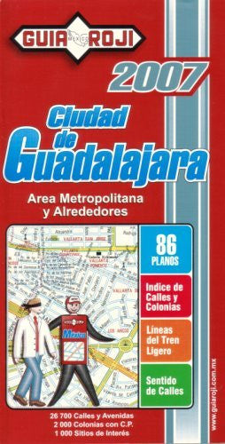 us topo - Ciudad de Guadalajara City Atlas by Guia Roji (Spanish Edition) - Wide World Maps & MORE! - Map - Wide World Maps & MORE! - Wide World Maps & MORE!