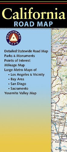 us topo - Benchmark California Road Map - Wide World Maps & MORE! - Book - Benchmark - Wide World Maps & MORE!
