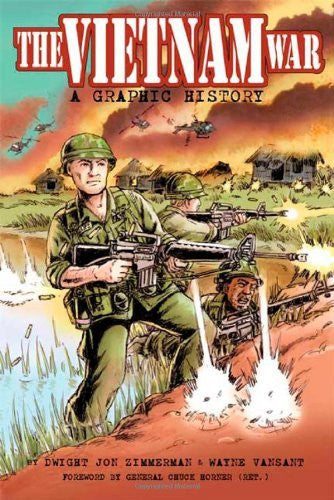us topo - Vietnam War, The: A Graphic History - Wide World Maps & MORE! - Book - Zimmerman, Dwight/ Vansant, Wayne (ILT)/ Horner, Chuck (FRW) - Wide World Maps & MORE!