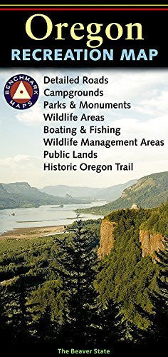 us topo - Benchmark: Oregon Recreation Map (Benchmark Maps: Oregon) - Wide World Maps & MORE! - Book - Benchmark - Wide World Maps & MORE!