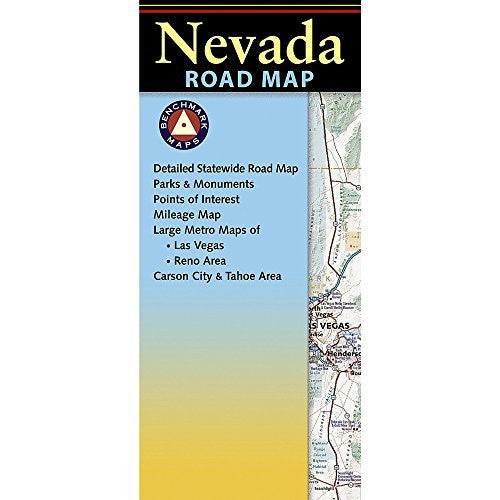 us topo - Nevada Road Map - Wide World Maps & MORE! - Book - Benchmark Maps - Wide World Maps & MORE!