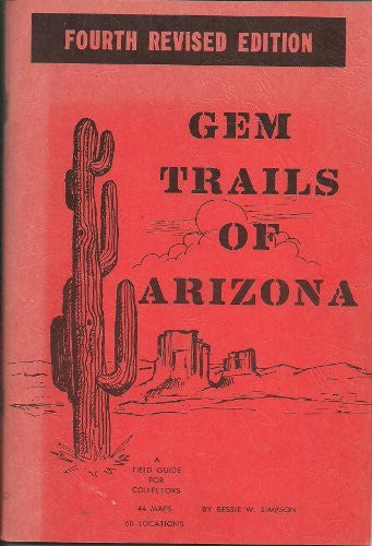 us topo - Gem Trails of Arizona - Fourth (4th) Edition - Wide World Maps & MORE! - Book - Wide World Maps & MORE! - Wide World Maps & MORE!