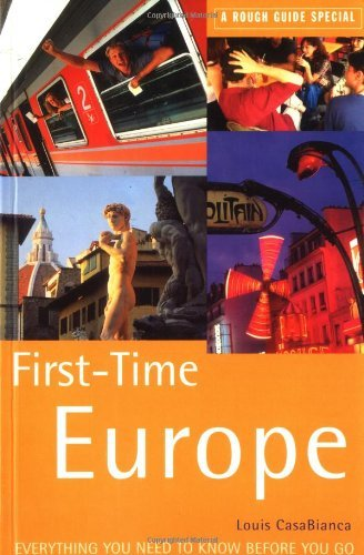 First-Time Europe: A Rough Guide Special - Wide World Maps & MORE! - Book - Wide World Maps & MORE! - Wide World Maps & MORE!