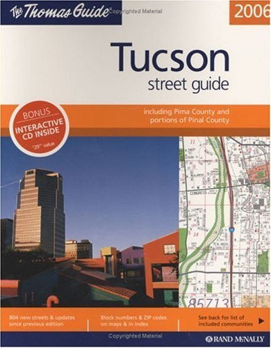us topo - Thomas Guide 2006 Tucson Street Guide (Tucson Metro Street Guide) - Wide World Maps & MORE! - Book - Brand: Thomas Brothers Maps - Wide World Maps & MORE!
