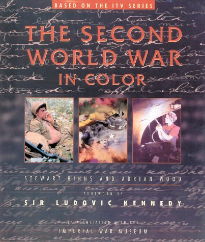 The Second World War in Color - Wide World Maps & MORE! - Book - Wide World Maps & MORE! - Wide World Maps & MORE!