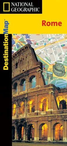 us topo - Rome Destination Map (Destination City) - Wide World Maps & MORE! - Book - National Geographic - Wide World Maps & MORE!