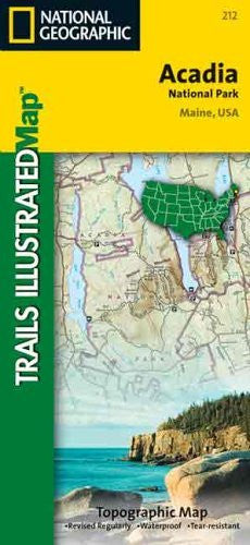 us topo - National Geographic, Trails Illustrated, Acadia National Park: Maine, USA  (Trails Illustrated - Topo Maps USA) - Wide World Maps & MORE! - Book - National Geographic Books - Wide World Maps & MORE!