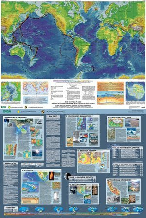 us topo - Dynamic Planet Two-Sided Wall Map - Wide World Maps & MORE! - Book - Wide World Maps & MORE! - Wide World Maps & MORE!