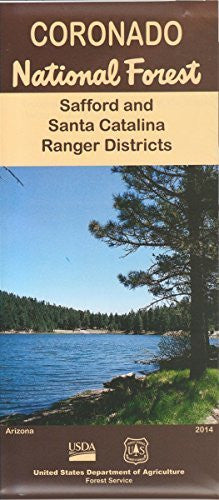 us topo - Coronado National Forest: Safford and Santa Catalina Ranger Districts - Wide World Maps & MORE! - Book - Wide World Maps & MORE! - Wide World Maps & MORE!