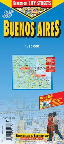 Buenos Aires Laminated Map (B&B) - Wide World Maps & MORE! - Book - Wide World Maps & MORE! - Wide World Maps & MORE!