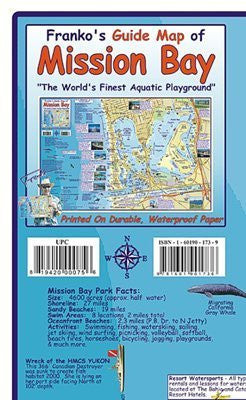 us topo - FRANKO MAPS MAP FML CA MISSION BAY - Wide World Maps & MORE! - Sports - Franko Maps - Wide World Maps & MORE!