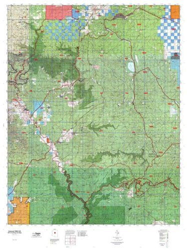 Arizona GMU 6A Hunt Area / Game Management Units (GMU) Map