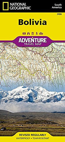us topo - Bolivia (National Geographic Adventure Map) - Wide World Maps & MORE! - Book - Wide World Maps & MORE! - Wide World Maps & MORE!