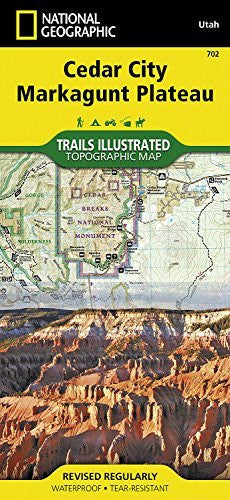 Cedar City, Markagunt Plateau [Dixie National Forest] (National Geographic Trails Illustrated Map)