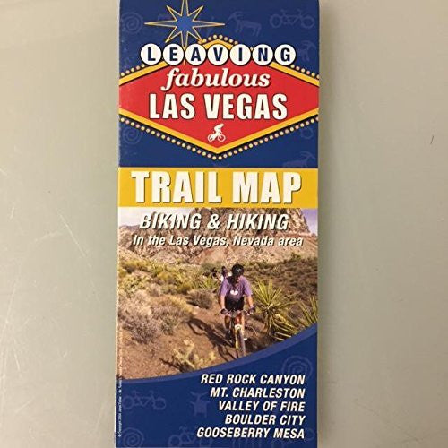 us topo - Leaving Fabulous Las Vegas: Biking & Hiking Trail Map - Wide World Maps & MORE! - Book - Wide World Maps & MORE! - Wide World Maps & MORE!