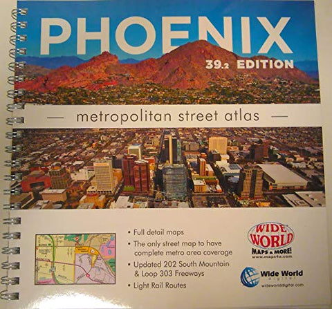 Phoenix Metropolitan Street Atlas 39.2 Edition - Wide World Maps & MORE! - Map - Wide World Maps & MORE! - Wide World Maps & MORE!