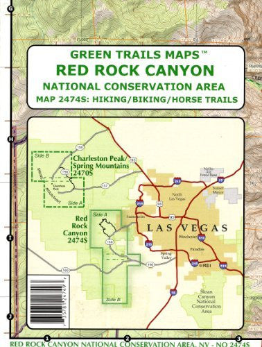 Red Rock Canyon National Conservation Area (Hiking / Biking / Horse Trails, 2474S)