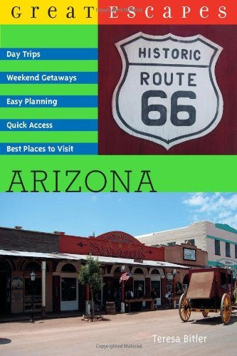 us topo - Great Escapes: Arizona (Great Escapes) - Wide World Maps & MORE! - Book - Brand: Countryman Press - Wide World Maps & MORE!