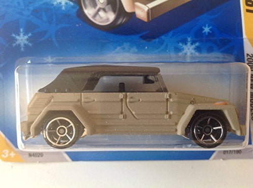 Hot Wheels Snowflake Card 2009 New Models Volkswagen Type 181 Tan/Black Top #017/190 - Wide World Maps & MORE! - Toy - Wide World Maps & MORE! - Wide World Maps & MORE!