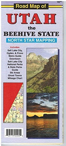 us topo - Road Map of Utah : The Beehive State - Wide World Maps & MORE! - Book - Wide World Maps & MORE! - Wide World Maps & MORE!