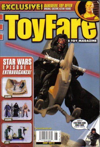 Star Wars Episode 1 Extravaganza (ToyFare, August 1999)