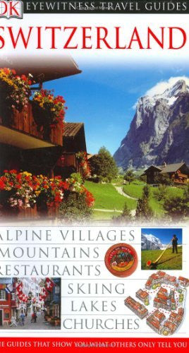 us topo - Switzerland (Eyewitness Travel Guides) - Wide World Maps & MORE! - Book - Brand: Dorling Kindersley - Wide World Maps & MORE!
