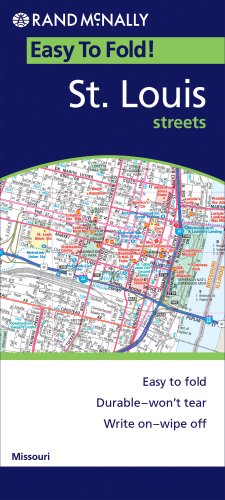 Rand Mcnally St Louis Mo (Rand McNally Easy to Fold!) - Wide World Maps & MORE! - Book - Rand McNally - Wide World Maps & MORE!