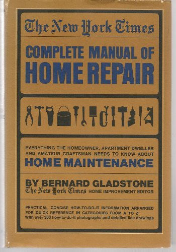 The New York Times Complete Manual of Home Repair - Wide World Maps & MORE! - Book - Wide World Maps & MORE! - Wide World Maps & MORE!