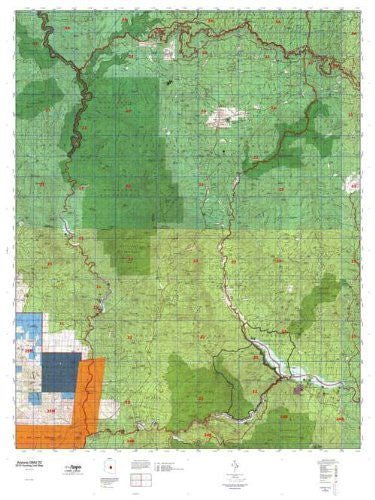 Arizona GMU 22 Hunt Area / Game Management Units (GMU) Map