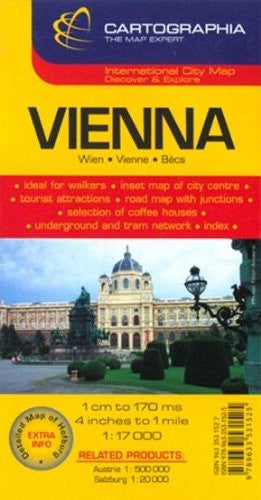 us topo - Vienna (City Map) - Wide World Maps & MORE! - Book - Cartographia - Wide World Maps & MORE!