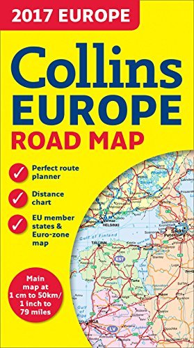 2017 Collins Europe Road Map