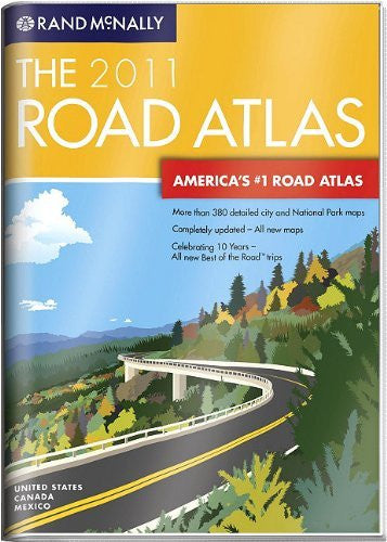 us topo - Rand McNally Road Atlas (Rand McNally Road Atlas: United States/Canada/Mexico) - Wide World Maps & MORE! - Book - Brand: Rand McNally n Company - Wide World Maps & MORE!