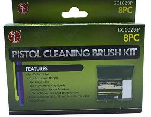 8 Piece SE Pistol Cleaning Brush Kit GC1029P