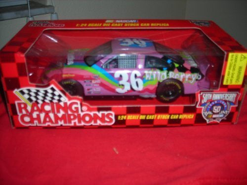 1998 Racing Champions Nascar Fans 50th Anniversary Edition Diecast 1/24 Ernie Irvan #36 Skittles
