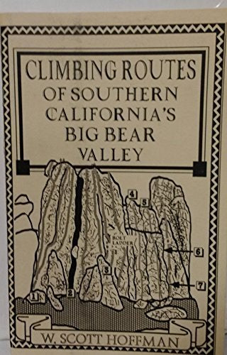 Climbing Routes of Southern California's Big Bear Valley - Wide World Maps & MORE! - Book - Wide World Maps & MORE! - Wide World Maps & MORE!