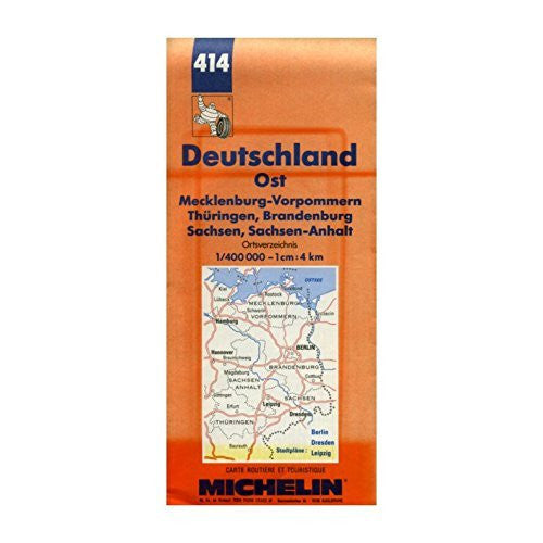 Michelin Main Road Map: Deutschland (Michelin Maps)