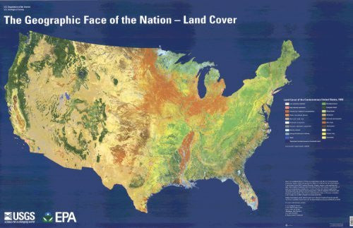 The Geographic Face of the Nation- Land Cover