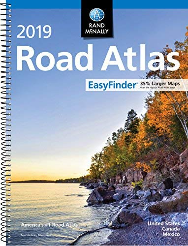 2019 Rand McNally EasyFinder Midsize Road Atlas