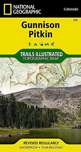 us topo - Gunnison, Pitkin (National Geographic Trails Illustrated Map) - Wide World Maps & MORE! - Book - National Geographic Books - Wide World Maps & MORE!