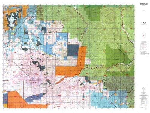 us topo - Arizona GMU 26M Hunt Area / Game Management Units (GMU) Map - Wide World Maps & MORE! - Book - Wide World Maps & MORE! - Wide World Maps & MORE!