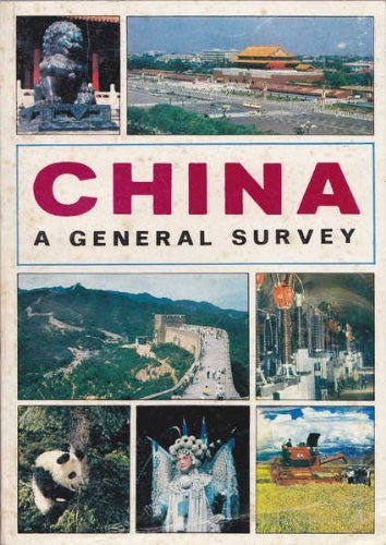 us topo - China: A General Survey - Wide World Maps & MORE! - Book - Brand: Bantam Doubleday Dell Publishing Group - Wide World Maps & MORE!