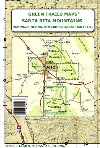 Green Trails Maps, Arizona