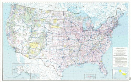 us topo - The National System of Interstate and Defense Highways, the Federal-Aid Primary Highway System (TUS5563) (TUS5563) - Wide World Maps & MORE! - Book - Wide World Maps & MORE! - Wide World Maps & MORE!