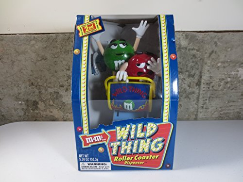 M&M's Candy Dispenser - Wild Things Roller-Coaster - Limited Edition