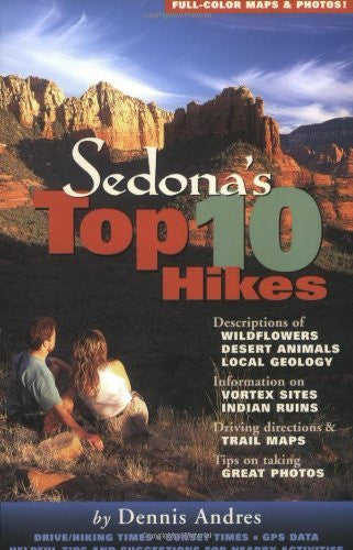 Sedona's Top 10 Hikes - Wide World Maps & MORE! - Book - Meta Adventures - Wide World Maps & MORE!