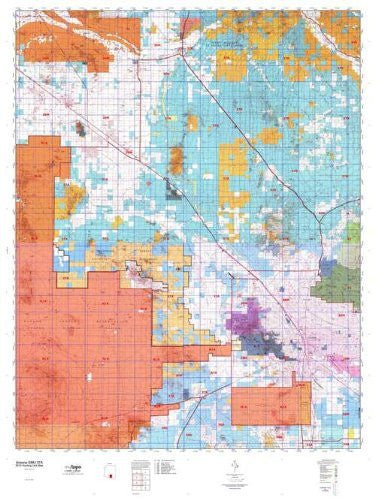 us topo - Arizona GMU 37A Hunt Area / Game Management Units (GMU) Map - Wide World Maps & MORE! - Book - Wide World Maps & MORE! - Wide World Maps & MORE!