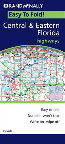 Rand Mcnally Easyfinder Central & Eastern Florida: Highways - Wide World Maps & MORE! - Book - Rand McNally - Wide World Maps & MORE!