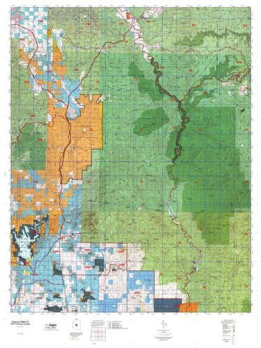 us topo - Arizona GMU 21 Hunt Area / Game Management Units (GMU) Map - Wide World Maps & MORE! - Book - Wide World Maps & MORE! - Wide World Maps & MORE!