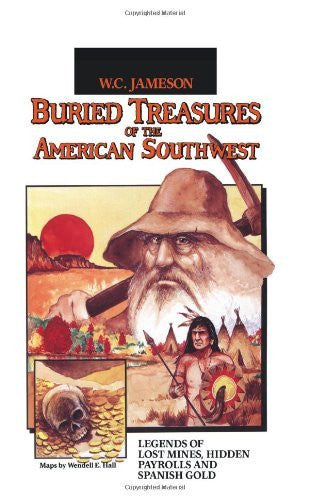us topo - Buried Treasures of the American Southwest - Wide World Maps & MORE! - Book - Brand: August House - Wide World Maps & MORE!