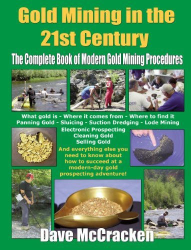 us topo - Gold Mining in the 21st Century: The Complete Book of Modern Gold Mining Procedures - Wide World Maps & MORE! - Book - Wide World Maps & MORE! - Wide World Maps & MORE!
